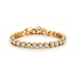 Armband JILL Poliert Edelstahl Golden