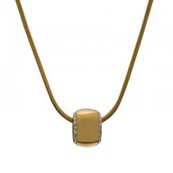 Halskette DONNA Poliert Golden Edelstahl
