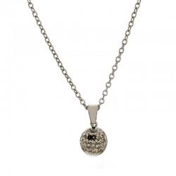 Halskette RACHEL Poliert Silbern Edelstahl