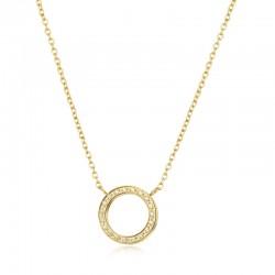 Halskette ROSANNE Poliert Edelstahl Golden