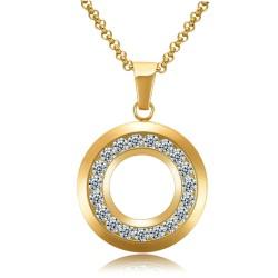 Halskette ANTONIA Poliert Edelstahl Golden