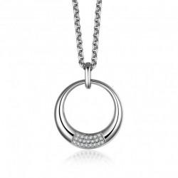 Halskette CERES Poliert Edelstahl Silbern