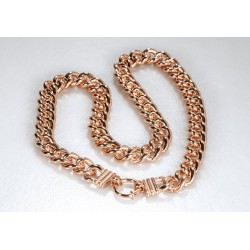 Halskette JENNIFER Edelstahl Poliert Rosé